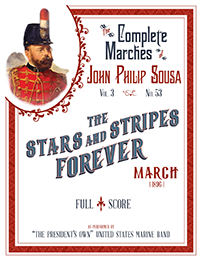 The stars and stripes forever sheet music for trumpet, french horn.